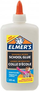 ELMER'S biały klej w płynie elmers WASHABLE, NO RUN SCHOOL GLUE 225 ml, 2079102