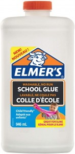 ELMER'S biały klej w płynie elmers WASHABLE, NO RUN SCHOOL GLUE 946 ml, 2079104